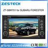 Shenzhen ZESTECH Digital double din car dvd player car audio for Subaru FORESTER