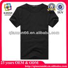 Plain black t shirt for man