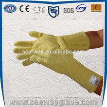 SEEWAY EN407 certificate Fingers Para-Aramid Heat Resistant Gloves