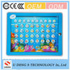 cheap price children educational learning machine english tablet toy