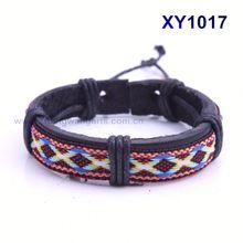 2013 Latest style leather cord bracelets