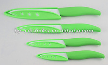 Shining best ceramic kitchen knives set