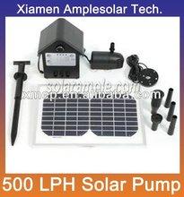 Mini 12V dc solar water pump
