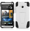 Customized Hybrid hard pc & silicone cell phone case for HTC one m7