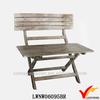 primitive original crate wooden vintage furniture fold bench