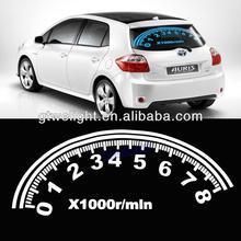 White Car Digital Swing Music Rhythm LED Flash Lamp Sound Activated Equalizer