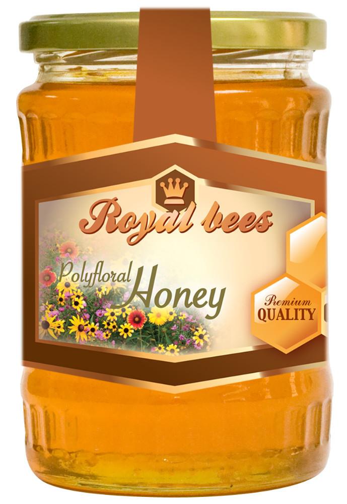 100% NATURAL POLYFLORAL BEE HONEY