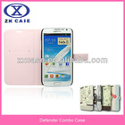 factory leather case for samsung galaxy s3 mini i8190 mobile phone accessory leather case for iphone