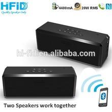 2015 New Gadget 20W Super Stereo Sound Professional True Wireless Bluetooth Speaker