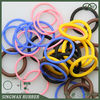House Appliance seal NBR/VITON/HBR/SLILOCN colored rubber o rings from China