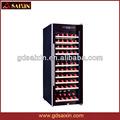 Venda quente do ar fresco refrigerador de vinho srw-98d/bloqueável geladeira/refrigerante r134a/mini-barata frigoríficos