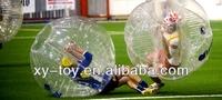 Bubble foot balls / funny soccor body balls/inflatable bang bang ball