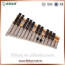 Professional kids wooden xylophone keyboard