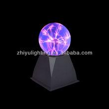 4 inch Desktop glass plasma light, Mini plasma ball