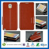 C&T Hot sales leather wallet case for samsung galaxy note 3
