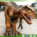 adulto caminando animatronic traje de dinosaurio para parque jurásico