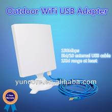 500mW 14dBi antenna, 5M/10M external antenna outdoor wifi amplifier, wifi range reach to 1KMs
