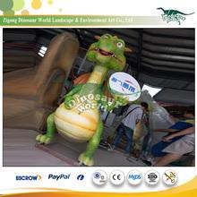 Cartoon Dino Zoo Models with Garden Layout Design