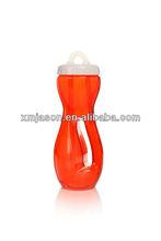 น้ำผลไม้ขวดที่มีการจัดการพลาสติก32oz, น้ำเต้ารูปร่างขวดที่มีฝา