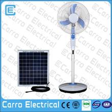 """best selling 16"""" rechargeable standing fan portable solar floor fan"""