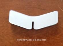 PVC Plastic transparent shirt butterfly clothing package accessoriesr men's shirt collar