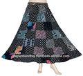 Novo do Vintage na moda Cotton fotos de saias longas