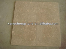 Beige color marble slab/tile with factory price