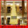 Shopping mall hot sale multicolor led christmas tree light