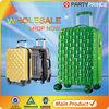 custom brand design your own suitcasebelt with pouc luggage travel set