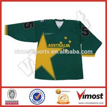 custom ice hockey jerseys/100% polyester /sublimation team logo