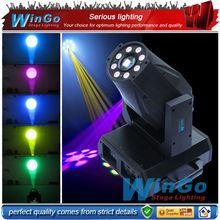 60W LED spot&wash (9x9w rgb) moving head/Night Club Disco Dancing Party Equipment DJ Stage Light System/LED moving head