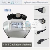 RU+6 rf skin tighten desktop cavitation machine