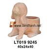 Wholesale Vietnam Antique Terracotta Pottery Dog Ornament