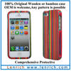 LPC1702 2013 New Cute Bamboo Wooden Case Cover Skin For Apple For Iphone 5 Cover Case Housing