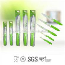 imprimé de fleurs en gros des fournitures couteau