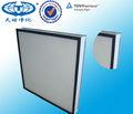 Hepa ULPA doblado de fibra de vidrio de papel de filtro Hepa H14