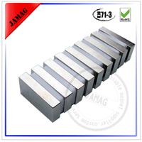 Rare earth segment and arc neodymium magnet