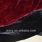 silk micro velvet fabric