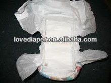 Soft breathable wood pulp disposable sleepy baby diapers