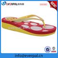Crianças EVA único High Heel Wedge Flip Flops