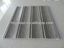 2014 popular wood wave pvc panel for interior decoration width25cm