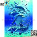 promotionnels 3d lenticulaire images de dauphin