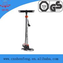 high pressure bike Tire inflator pump with gague