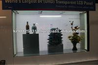 "[ODHitec] 84"" Largest size of Transparent LCD Display ; OD840EQD-TAS"