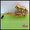 instrumento musical baby crianças mini saxofone com laca de ouro