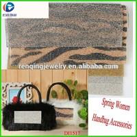2015 Diamond self adesive rhinestone mesh for ladies fashion decoration