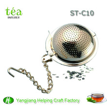 high quality stainless steel sliver tea ball infuser