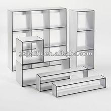 12mm compact laminate panel book shelf