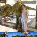 Mi dino- dinosaurios velociraptor traje traje de dinosaurio de peso ligero