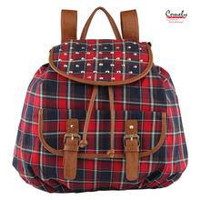 2015 Comely handbags bags factory canvas backpack fashion lady handbag